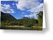 Christina Lake - North End Of The Lake Greeting Card