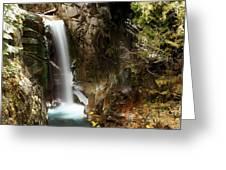 Christine Falls Canyon Greeting Card