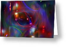 Christmas Abstract 112711 Greeting Card