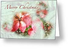 Christmas Card - Virginia Creeper In Autumn Colors Greeting Card