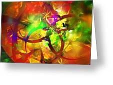 Christmas Chaos  Greeting Card