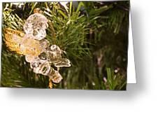 Christmas Crystal Angel 1 B Greeting Card