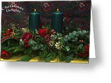 Christmas Delights Greeting Card