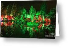 Christmas Fantasyland Greeting Card