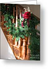 Christmas Garland Greeting Card