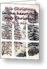 Christmas In The Heart Greeting Card