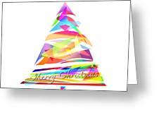 Christmas Tree Design Greeting Card