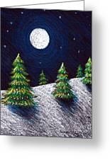Christmas Trees II Greeting Card