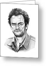Christopher Lloyd Taxi Greeting Card