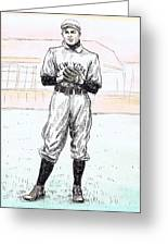 Christy Mathewson Greeting Card