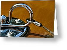 Chrome Lock Greeting Card