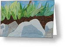 Chromitic Iris Greeting Card