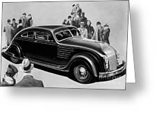 Chrysler Airflow Greeting Card
