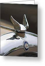 Chrysler Hood Ornament 2 Greeting Card