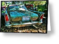 Chrysler Saratoga Greeting Card