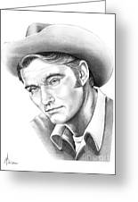 Chuck Conners-rifleman Greeting Card