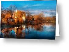Church - Clinton Nj - Clinton United Methodist Church Greeting Card