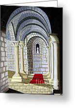 Church Altar Greeting Card