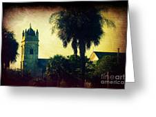 Church At Fort Moultrie Near Charleston Sc Greeting Card