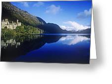 Church At The Waterfront, Kylemore Greeting Card