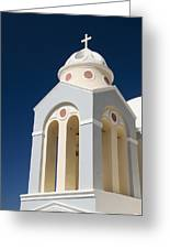 Church Bell Tower Greeting Card