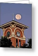 Church Bell Tower Greeting Card