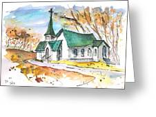 Church In Friars Point Mississippi Greeting Card