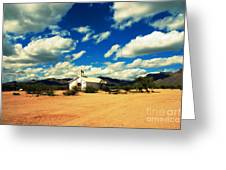 Church In Old Tuscon Arizona Greeting Card