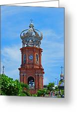 Church In Puerto Vallarta Greeting Card