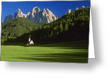 Church In The Countryside Greeting Card