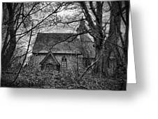 Church In The Woods Greeting Card by Dave Godden