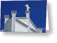 Church Key West Florida Greeting Card