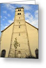 Church Maria Heimsuchung Meersburg Germany Greeting Card
