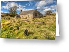 Church Of Celynnin Greeting Card by Adrian Evans