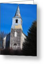 Church Of Days Gone By Greeting Card