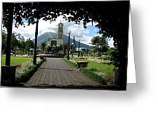 Church Of San Juan Bosco Greeting Card