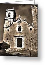 Church Of The Virgen De La Ermitana - Peniscola  Greeting Card