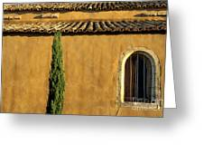 Church. Provence Greeting Card by Bernard Jaubert
