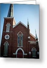 Church Series - 3 Greeting Card