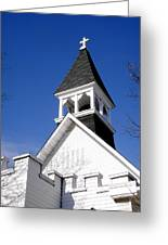 Church Steeple Greeting Card
