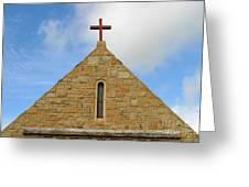 Church Top Greeting Card