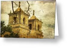 Church Towers Greeting Card