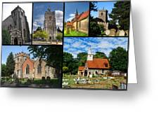 Churches Of Hillingdon Greeting Card