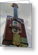 Cigar Box Mandolin Greeting Card