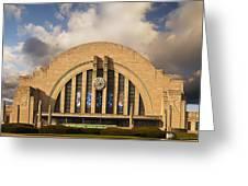 Cincinnati Museum Union Terminal Greeting Card