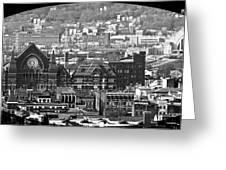 Cincinnati Music Hall Cincinnati Museum Greeting Card
