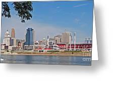 Cincinnati Panorama Greeting Card