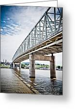 Cincinnati Taylor Southgate Bridge Greeting Card
