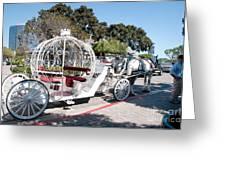 Cinderella Carriage Greeting Card