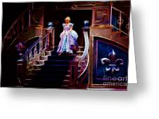 Cinderella Enters The Ball Greeting Card by Darleen Stry
